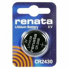 1 Pile au Lithium RENATA CR2430 / BR2430 / DL2430 / 2430