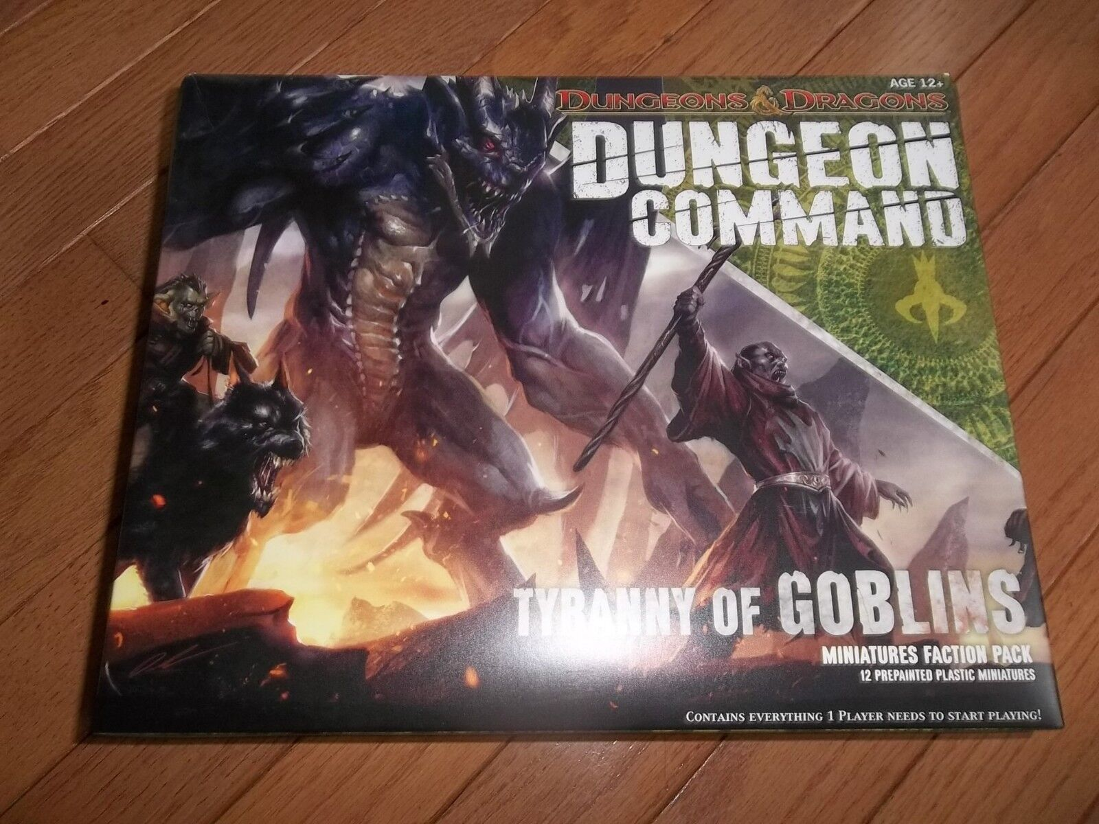 Wizards of the Coast D&D Dungeon Command Command Command Tyranny of Goblins Miniatures Faction P 9ede36