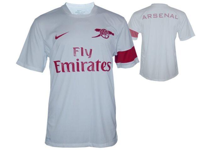 Nike Arsenal London Training Shirt AFC Gunners Jersey Trikot weiß Gr.xxl England