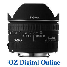 New Sigma 15mm F2.8 EX DG DIAGONAL FISHEYE Lens for Canon 1 Yr Au Wty