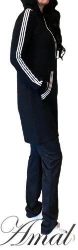 ❤️Muslim Pantsuit For Women Sports Style Maxi Islamic Hijab USA Suit Abaya