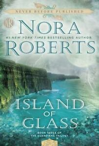 Island-of-Glass-Guardians-Trilogy-Series-Book-3-by-Nora-Roberts-Paperback-Novel