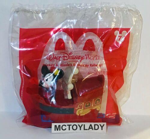 2020 McDONALD/'S DISNEY MICKEY /& MINNIE/'S RUNAWAY RAILWAY HAPPY MEAL TOYS!