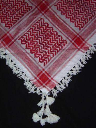 Arafat arabe foulard scarve châle keffieh shemagh militaire palestine neck wrap