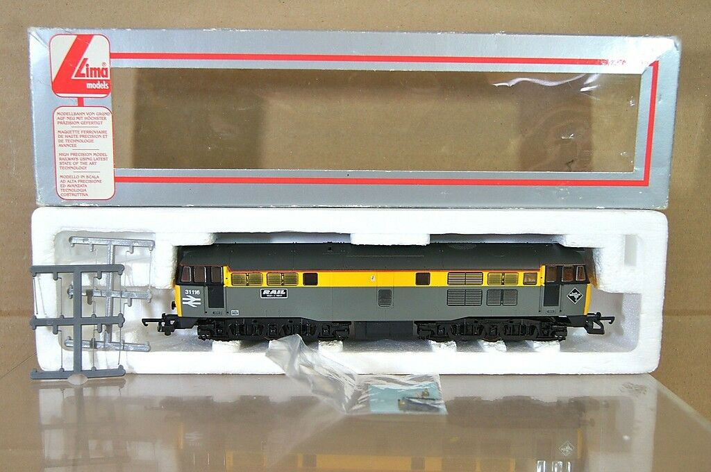 LIMA 205072 BR CIVIL ENGINEERS GREY CLASS 31 DIESEL LOCO 31 116 RAIL MIB nc