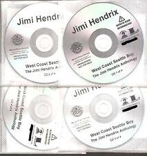 "JIMI HENDRIX ""WEST COAST SEATTLE BOY"" US Promo CD Set"