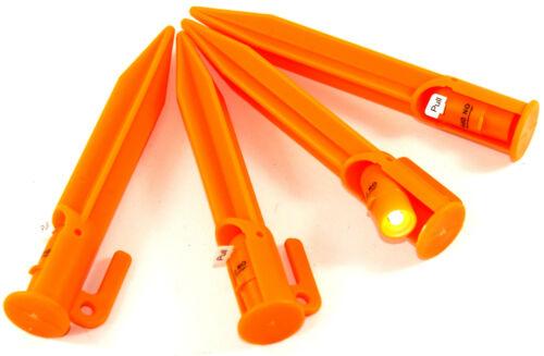 Harengs 8 pcs LED 22cm zeltnagel sol clous zeltnägel zelthering zeltheringe 832