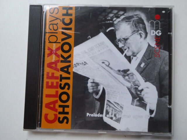CALEFAX REED QUINTET <>  plays Shostakovich  <> NM (CD)