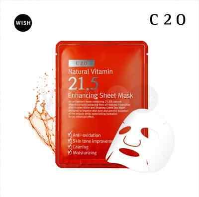 By Wishtrend Natural Vitamin 21.5 Enhancing Sheet Mask (10sheets)