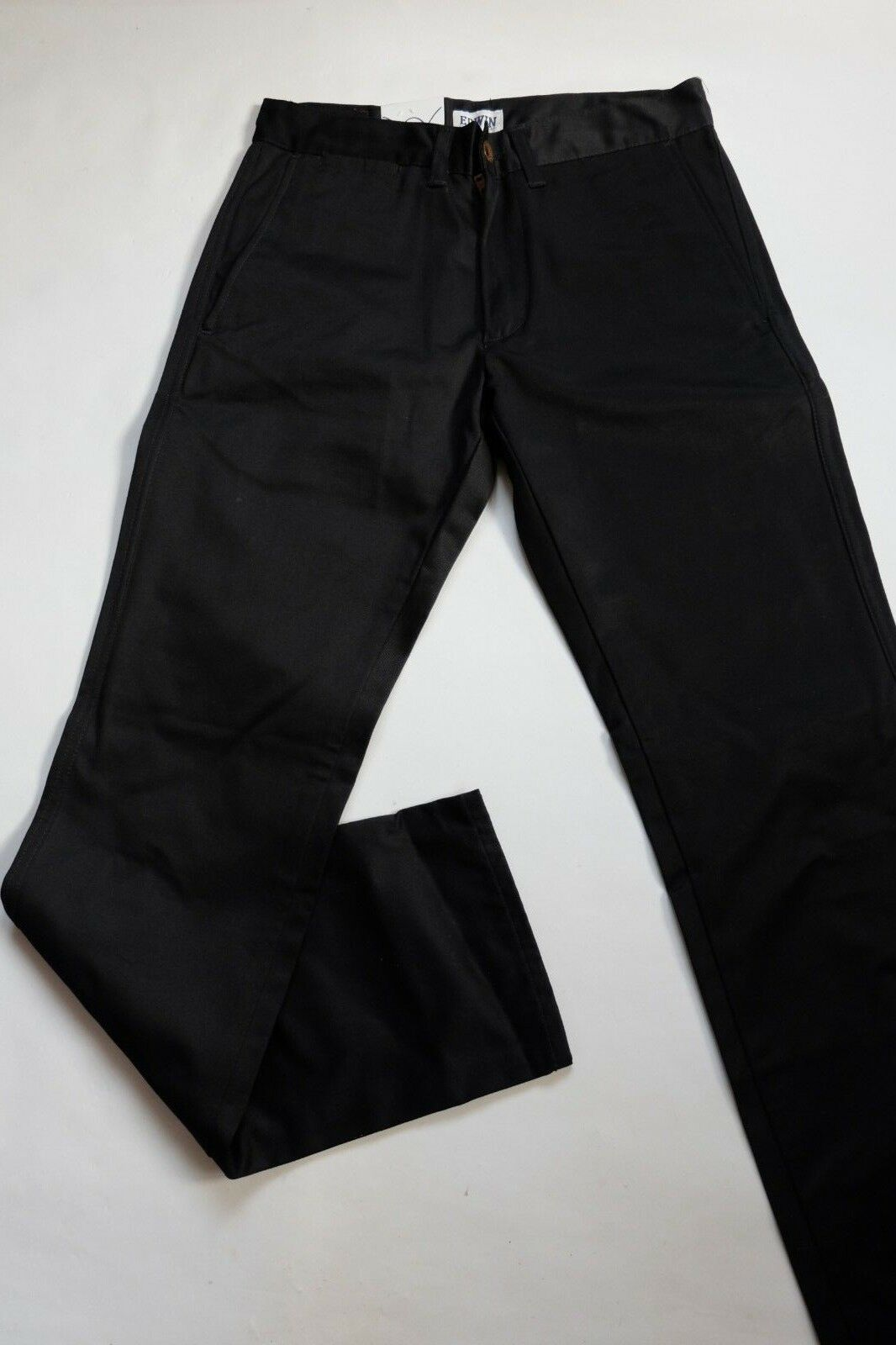 JEANS EDWIN  CLASSIC CHINO  (Noir unwashed)  L33 TAILLE W36 L33  4e9067