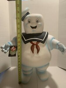 """Ghostbusters Stay Puft Marshmallow Man Bank 24"""" 2014 Diamond Select Toys"""