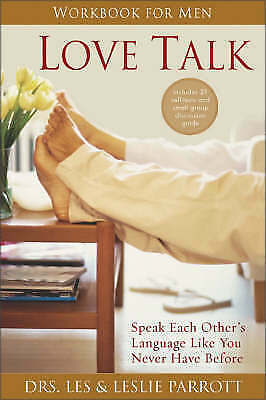 1 of 1 - Love Talk Workbook for Men: Speak Each Other's Language Like You Never-ExLibrary