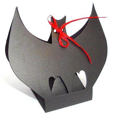 Bat Favore Box Per Gotico Matrimonio. Halloween Festa Box. Tutte Le Occasioni. Trucco O-