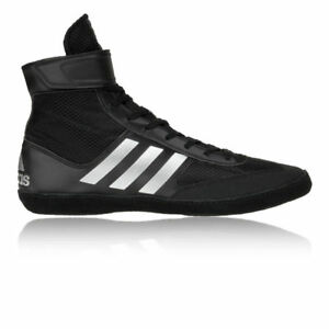 sports shoes 97cfc 188da ... Adidas-Combat-Speed-5-Wrestling-Chaussures-Noir-amp-