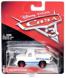 Kris Revstopski Disney Cars 1:55 Scale Diecast