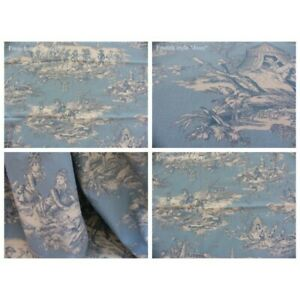 Coupon-fabric-toile-de-jouy-story-water-creme-fd-sky