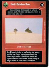STAR WARS CCG PREMIERE BLACK BORDER RARE SEND A DETACHMENT DOWN