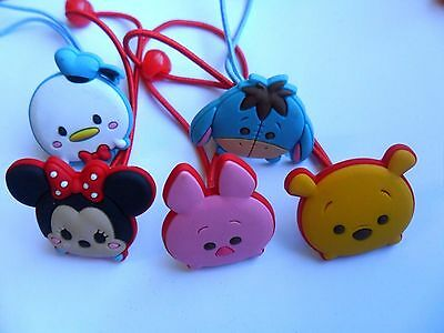 Ausverkauf Lovely Paar Disney Tsum Bommel/bänder/party 10 Wählen A Halten Sie Die Ganze Zeit Fit