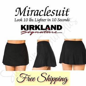 Kirkland-Signature-by-Miraclesuit-Women-039-s-Swim-Skirt-940761