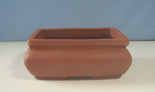 1970s ee Vintage Yixing zisha shohin bonsai pot retired circa