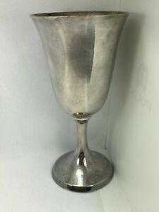 ESTATE Large .950 Silver Goblet