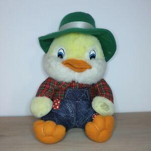 VINTAGE Mac Peluche Musical Duck peluche elettronico soft Ireland GIOCATTOLO FUNZIONANTE RARO