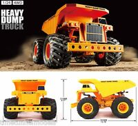 Tamiya 58622 Heavy Dump Truck Rc Car Kit - Deal Bundle With Steerwheel Radio
