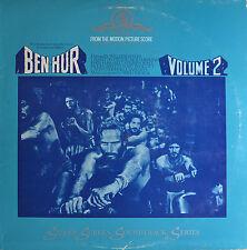 "BEN-HUR - VOLUME 2 - MIKLOS ROZSA  12""  LP (P920)"