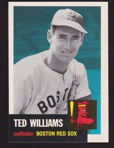 Details About 1991 Topps Archives 1953 Reprint Ted Williams Baseball Card
