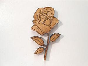 "1057A Lot of 10 Wood Floral CAT Tags Trims 1-3//16/"" x 1/"" Scrapbook Craft"