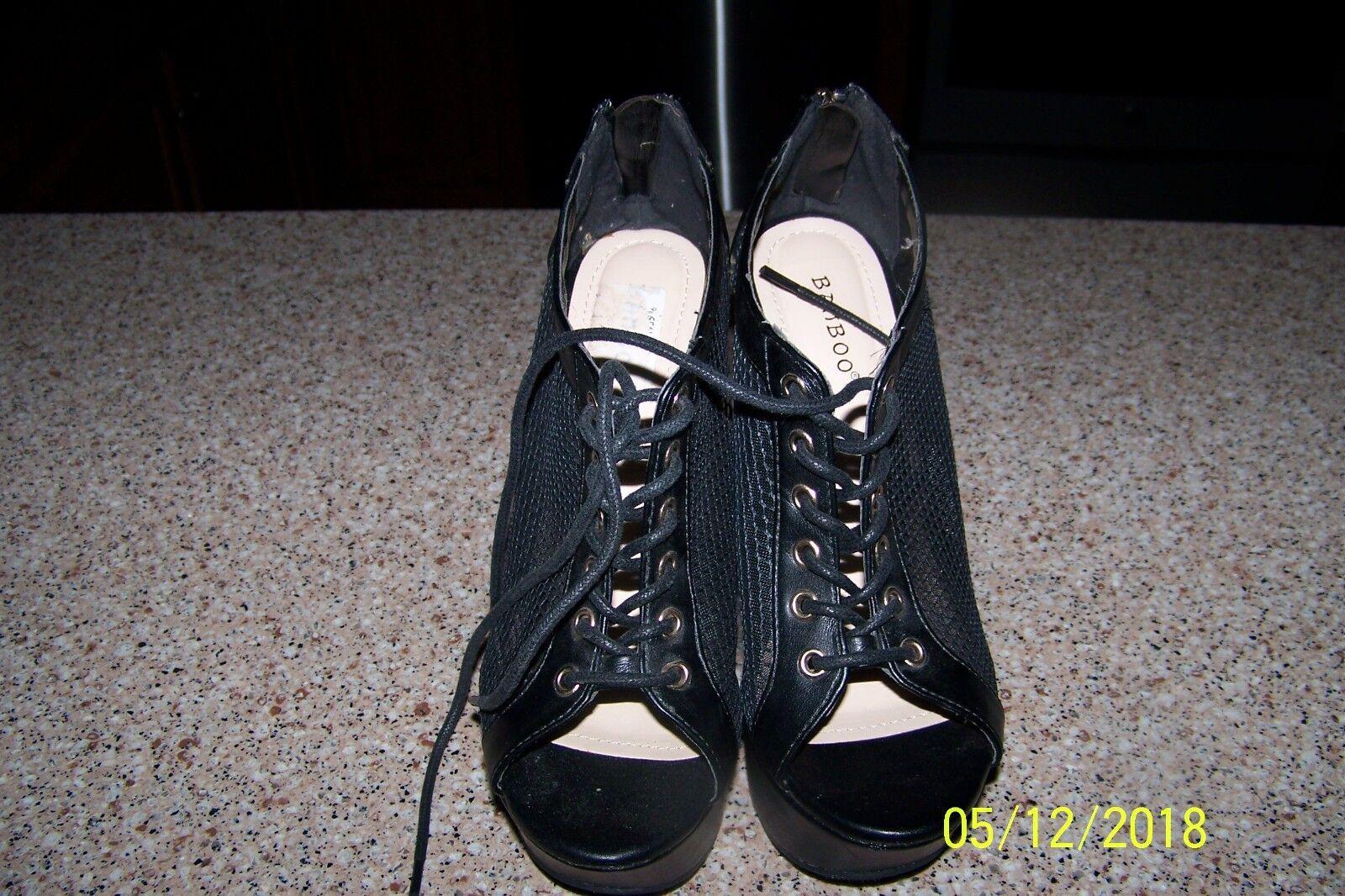 Gentlemen/Ladies color Bamboo Black Heels Beautiful color Gentlemen/Ladies Primary quality Direct business 58b0b6