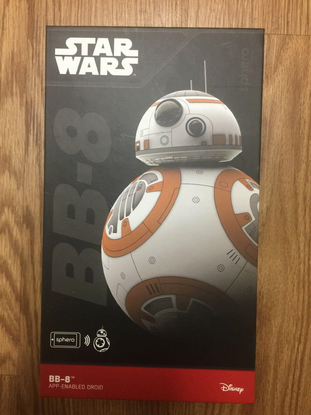 Sphero Star Wars BB-8 App Controlled Robot Nuovo Sealed Never Removed From Box