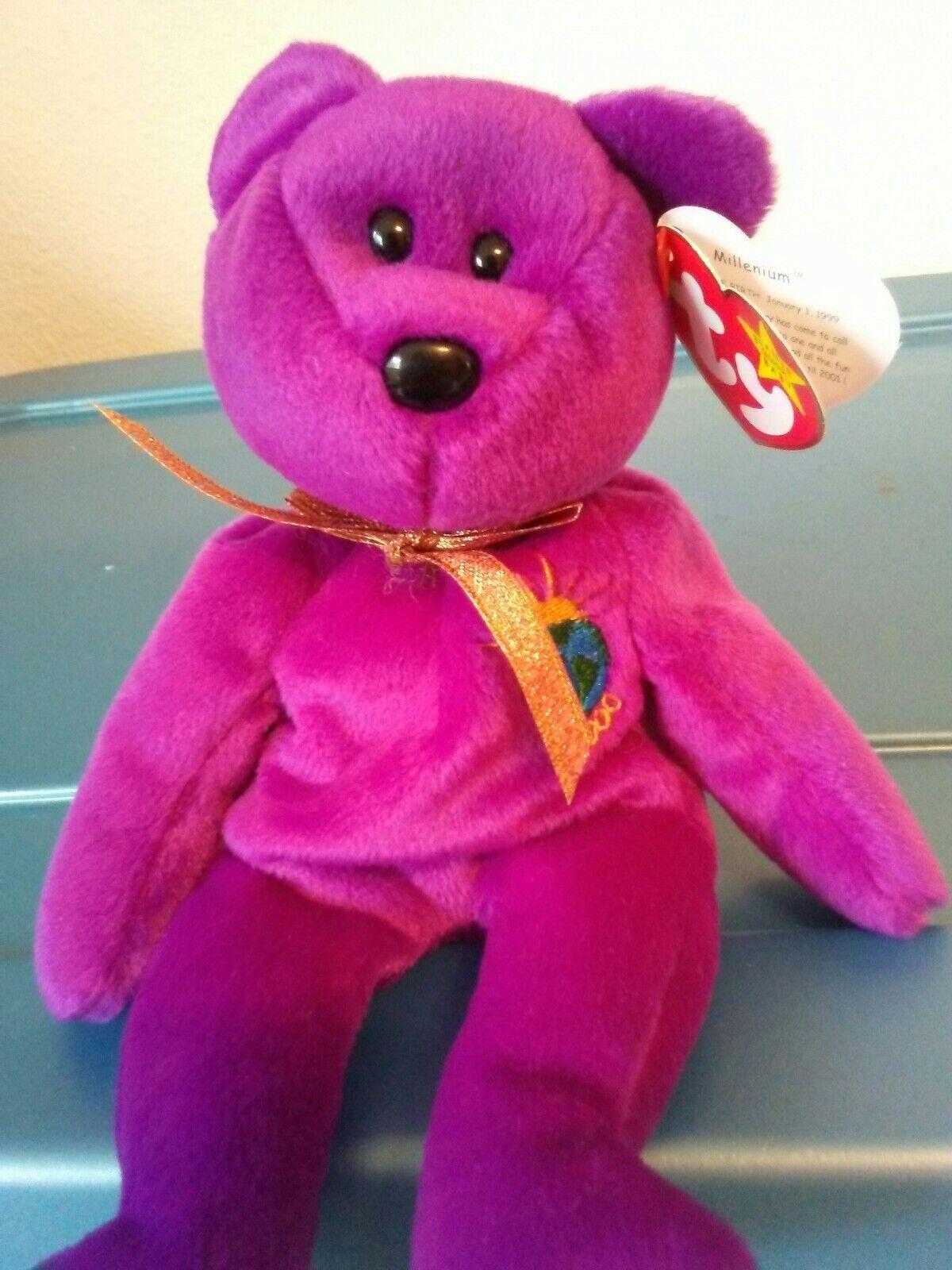 Ty Beanie Babies Millennium Bear