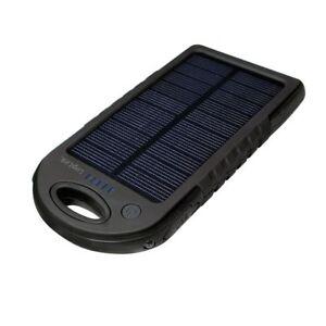 Solar-Ladegeraet-Solar-Powerbank-5000mA-USB-Ladegeraet-Zusatz-Akku-Batterie-2x-USB