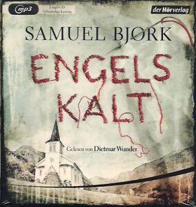 Samuel-Bjork-Engelskalt-2-MP3-CD-Thriller-Hoerbuch-CDs-Krimi-Dietmar-Wunder