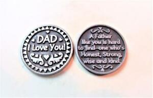 Dad I Love You Silver