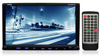 7'' Double Din Tft Touch Screen Dvd/vcd/cd/mp3/mp4/cd-r/usb/sd-mmc Receiver