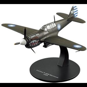 Curtiss P-40 Warhawk Flying Tigers 1//72 Scale Diecast Metal Model Oxford