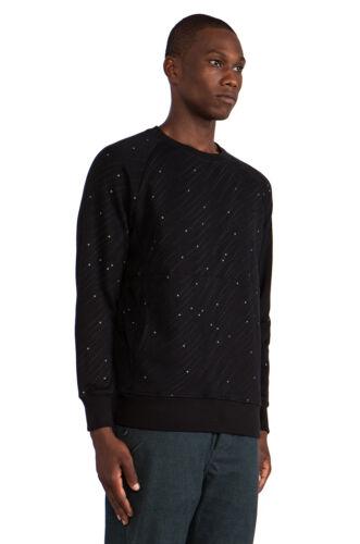 Publier 3 M reflètent fers Noir Poches Ras Du Cou Homme streetwear fashion S M L XL