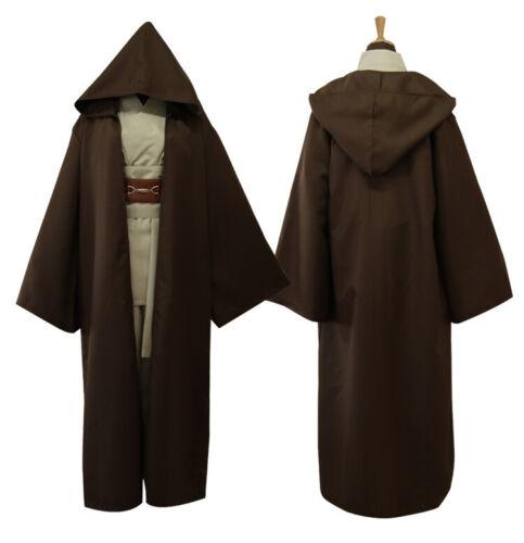 Star Wars Revenge of the Sith Obi Kenobi Wan COSplay Jedi Creative Suit Best