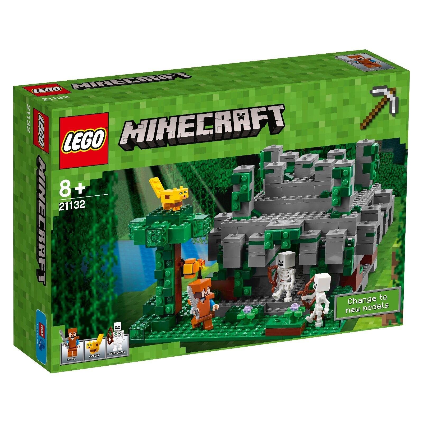 LEGO® Minecraft™ 21132 Der Dschungeltempel NEU OVP_ The Jungle Temple NEW MISB  | Eine Große Vielfalt An Modelle 2019 Neue