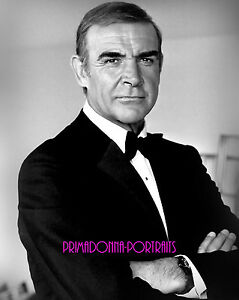 Sean Connery 8x10 Lab Photo 1983 Never Say Never Again James Bond Portrait Ebay