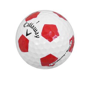 12 Callaway Chrome Soft Truvis Red AAAAA/Mint Golf Balls *SALE!*