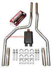 97 - 01 FORD F150 Truck Mandrel Bent Dual Exhaust w/ Flowmaster Muffler