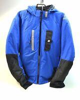Men's Coldwave Sno Storm Snostorm Snowmobile Jacket Blue/black Ski Winter Jacket