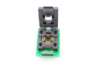 Flap TQFP44 QFP44 PQFP44 auf DIP40 Sockel Adapter Universal Programmer Konverter