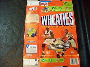 2006 NBA Champions wheaties box Miami Heat
