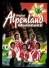 Alpenland Quintett Autogrammkarte Original Signiert ## BC 42452