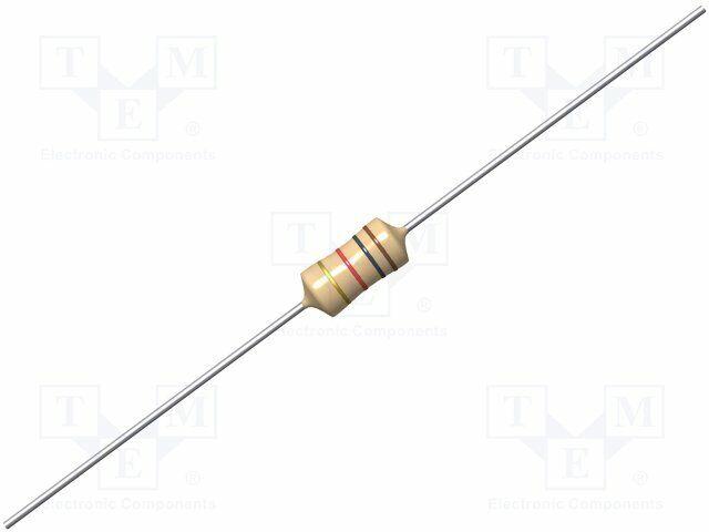 Drossel axial THT 270uH 200mA 5,7Ω ±5/% SMCC-271J-02 Axialdrosseln