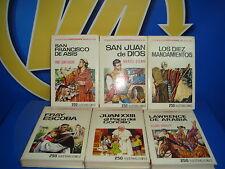 Lote de libros descatalogados año 1971 BRUGUERA 6 libros coleccion historias sel